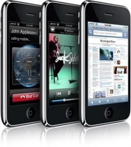 naujasis Apple iPhone 3G