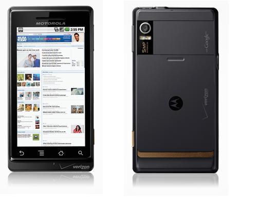 Motorola Droid Vaizdas