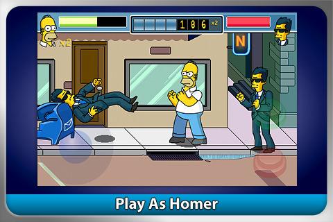 iPhone žaidimas The Simpsons