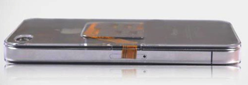 iPhone 4 idėklas dviem SIM kortelėm