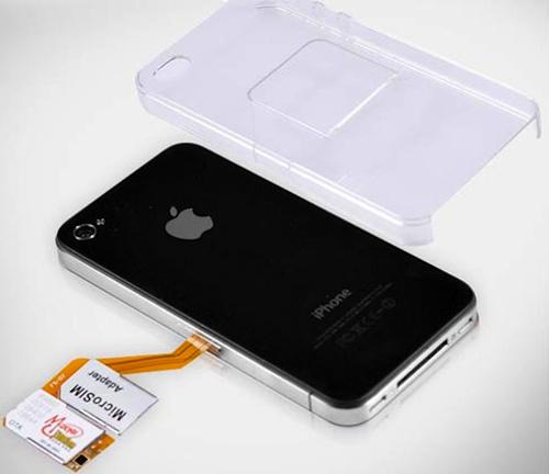 iPhone dvi SIM koreteles