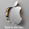 Apple spaudos konferencija Back to the MAC