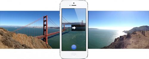 iPhone 5 panoraminės nuotraukos
